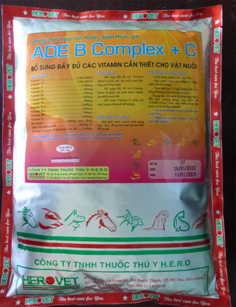 ADE B Complex + C